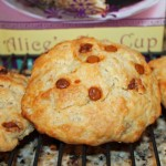Banana Butterscotch Chip Scone