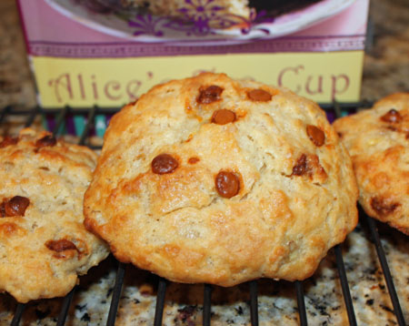 Alice's Tea Cup Banana Butterscotch Scones
