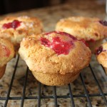Orange Cranberry Swirl Muffins