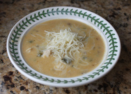 turkey poblano soup
