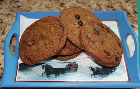 Gesine's Perfect Chewy Chocolate Cookies