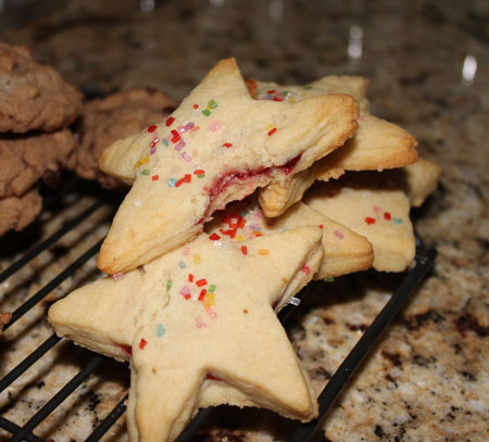 Lucky Stars Sugar Cookies