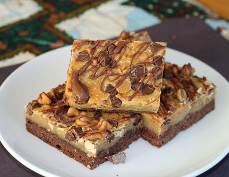 Milk Chocolate Peanut Butter Chip Bars