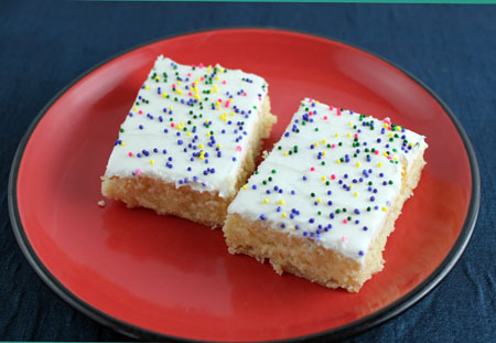 Mardi Gras Lemon Bars