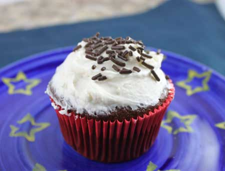 Easy Chocolate Cupcake