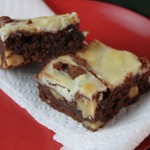 Nutty Cream Cheese Brownies
