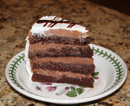 Irish Cream Chocolate Mousse Cake Recipe — Dishmaps