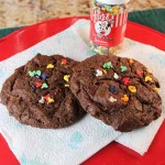 Chocolate Skor Bar Cookies