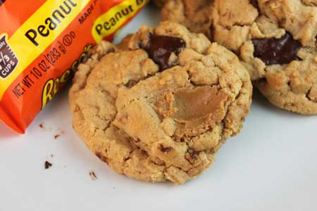 peanut butter chunk cookies