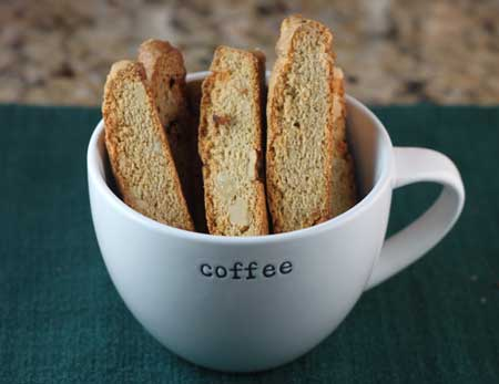 Small Batch Butterscotch Whole Wheat Biscotti