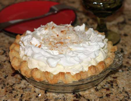 Harry's Roadhouse Coconut Cream Pie