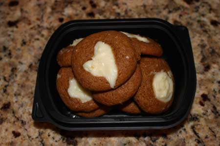 ginger cheesecake cookies