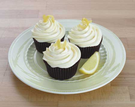 Lemon Chocolate Cupcakes