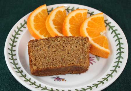 zucchini apple and carrot bread