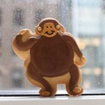 Monkey Cookie from Eleni
