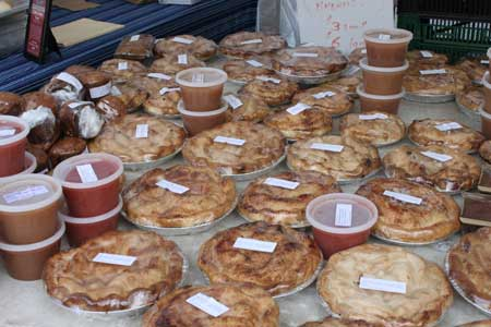 Pies at Union Square Farmer's Market