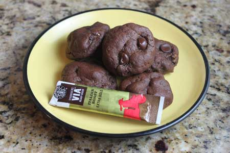 Starbuck's Via Double Chocolate Cookies