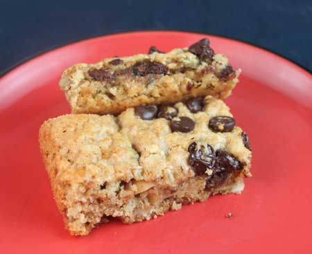Odense Almond Paste Oat and Trail Mix Bars