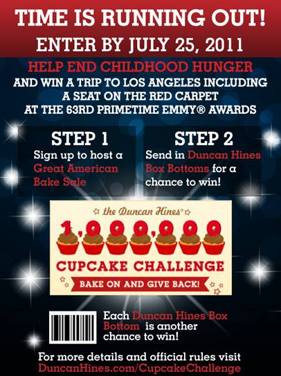 1 Million Cupcake Challenge Deadline Approaching