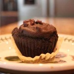 Chocolate Apple Butter Muffins