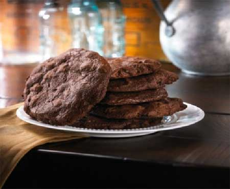 Ted's Double Chocolate Cookies