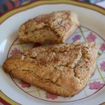 Biscoff Filled Scones