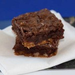 Crunch Crust Brownie