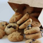Mini Peanut Butter Chocolate Chip Cookies