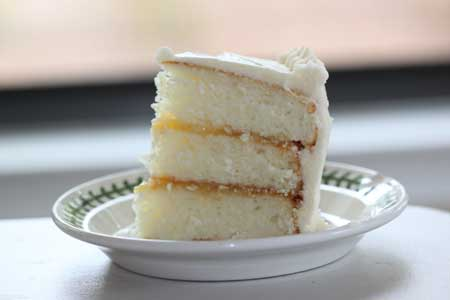 Triple Lemon Cake from Fine Cooking