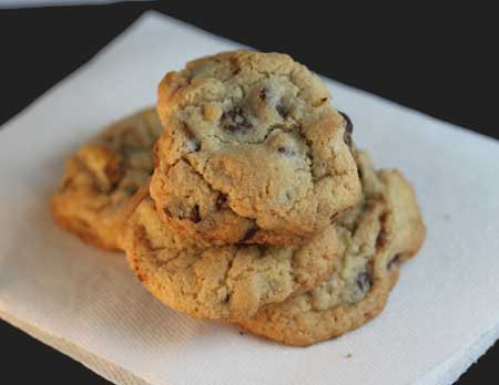 Vanilla-Rich-Chocolate Chip Cookies
