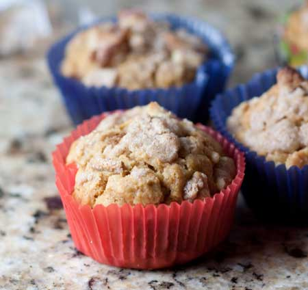 Whole Wheat Pumpkin Maple Spice Muffins