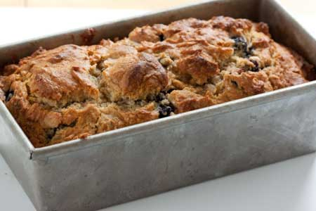 blueberry honey nut bread