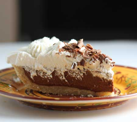 perfect chocolate cream pie