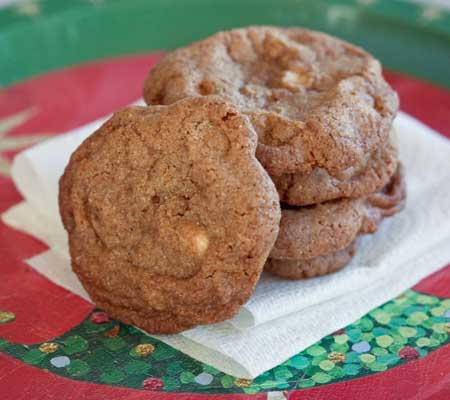 Crispy Cashew Butterscotch cookies