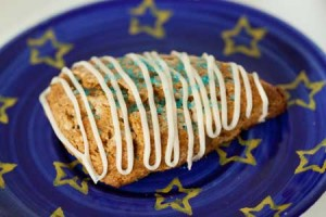 gingerbread scone