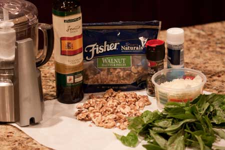 Fisher Freshness Seal Bag Review and Walnut Pesto Recipe