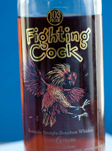 Fighting Cock Bourbon Whiskey