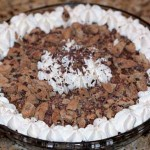 chocolate crumb pie