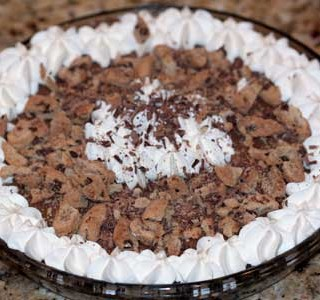 Barry Callebaut's Chocolate Crumb Cream Pie
