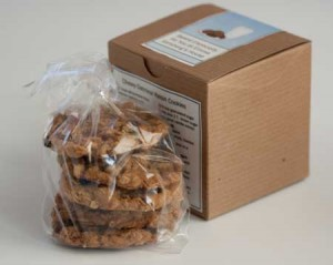 cookies and box