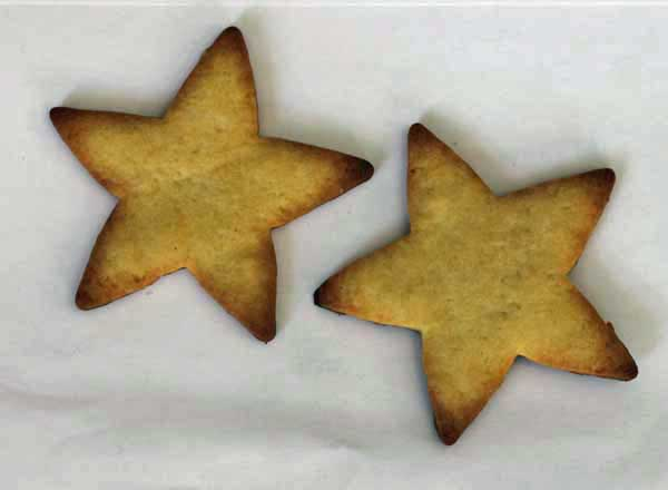 cut-out sugar cookie