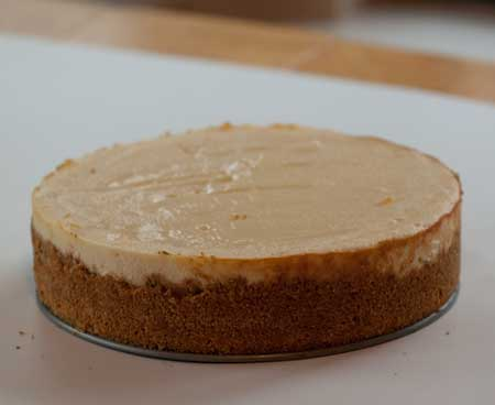 No-Crack Cheesecake
