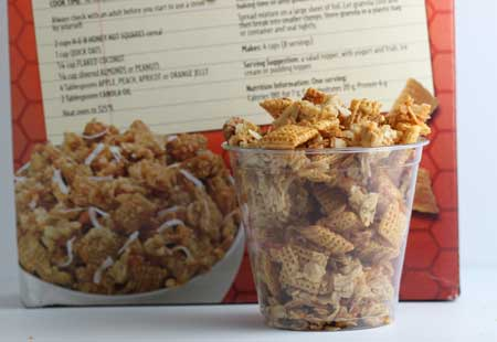 Honey Nut Crunch Granola aka Sweet Chex Mix - Cookie Madness