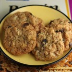 Crunchy Raisin Bran Cookies