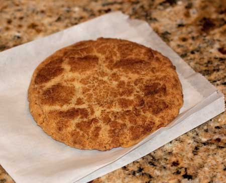 snickerdoodle from Bakerman's in Austin