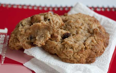 Big Fat Oatmeal Raisin Cookies