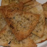 Italian Spiced Pita Chips