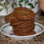 Crispy Chocolate Chip Cookies from Food TV Magazine