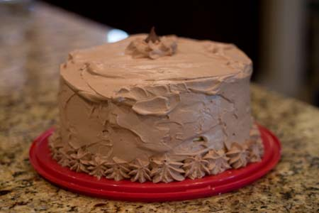 Mocha Angel Food Cake