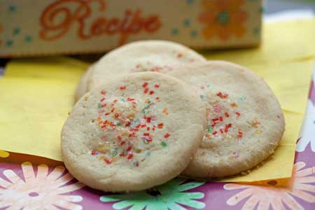 Pineapple Extract Sugar Cookies